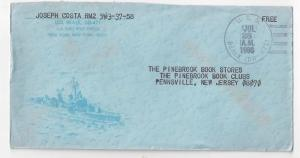 USS Beale DD-471 1966 Cacheted Naval Cover