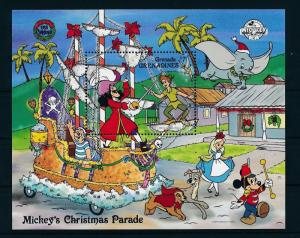 [22461] Grenada Grenadines 1988 Disney Mickey Peter Pan Hook MNH