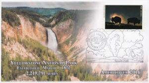 16-410, 2016, Americover, 100 Years, NPS, Pictorial, Yellowstone
