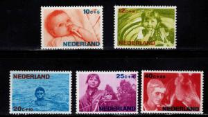 Netherlands Scott B419-4252 MNH** semi-postal set