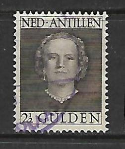 CURACAO 227 USED QUEEN JULIANA ISSUE