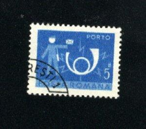 Romania #J133 used  VF  1974  PD