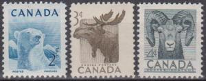 Canada #322-4 MNH F-VF (A8232)