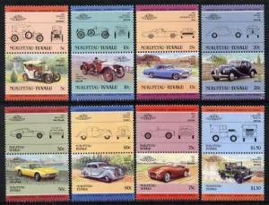 Tuvalu - Nukufetau 1985 Cars #2 (Leaders of the World) se...
