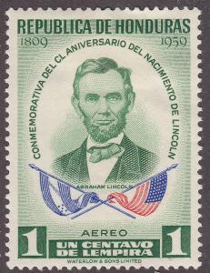 Honduras C289  Abraham Lincoln 1959
