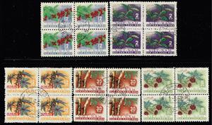VIETNAM STAMP  NORTH  1962 Crops  BLK OF 4 SET  $150