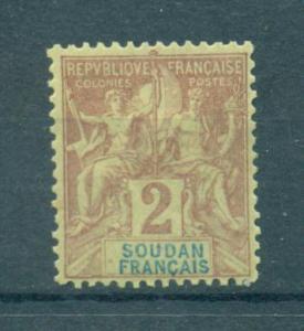 French Sudan sc# 4 mh cat value $2.50