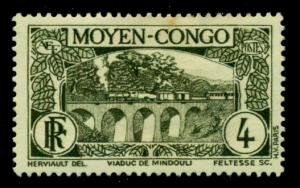 Middle Congo 1933 #67 MH SCV(2018)=$0.30