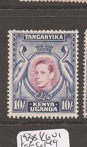Kenya Uganda & Tanganyika 1938 KGVI 10/- Bird SG 149 MNH see scan of back(12awe)