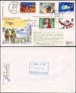 RFDC8 Christmas Signed by Puma Navigator and C.H. Reineck (B)