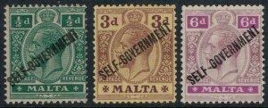 Malta #77,9-80*  CV $10.25