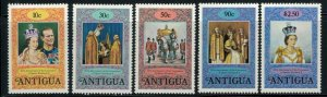 Antigua #508-13* NH CV $2.80 Queen Elizabeth Coronation 25th Anniv. stamps