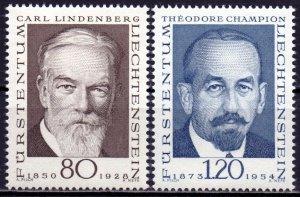Liechtenstein. 1969. 512-13. Philatelists. MNH.