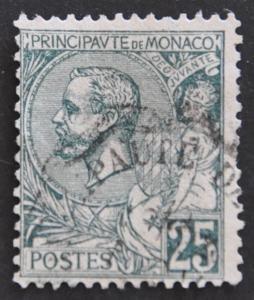 DYNAMITE Stamps: Monaco Scott #20 – USED