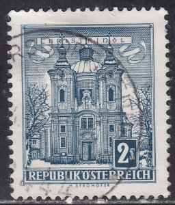 Austria 625 Christkindl Church 1958