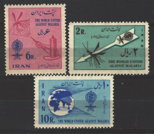 COLLECTION LOT # 5344 IRAN #1207-8 MNH 1962 CV+$10