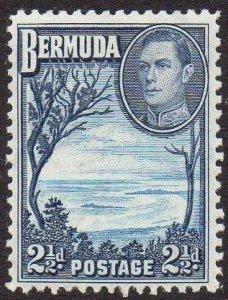 Bermuda 1938 2½d light and deep blue MH