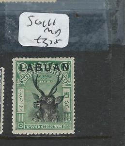 LABUAN  (P0108B) 2 C DEER SG 111 MOG