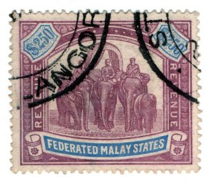 (I.B) Federated Malaya States Revenue : Duty Stamp $250