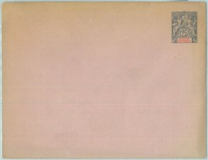 86357 - SENEGAL  - Postal History -  STATIONERY COVER - H & G  # 3b