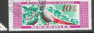 Mongolia  # 183  (U)  CV $0.25