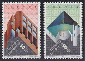 Liechtenstein 861-862 MNH (1987)