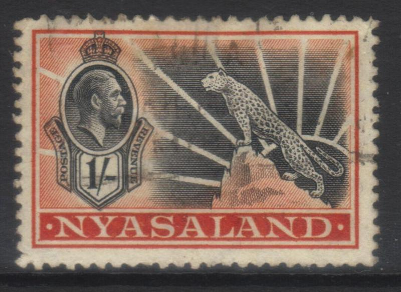 NYASALAND 1934 MSCA SG122 USED CAT £14