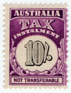(I.B) Australia Revenue : Tax Instalment 10/-
