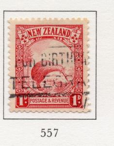 New Zealand 1935 Early Issue Fine Used 1d. 250950