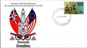 Grenada, Worldwide First Day Cover, Americana