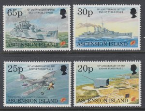 Ascension 613-616 Airplanes MNH VF