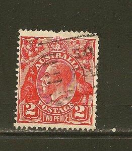 Australia 116 King George V Used