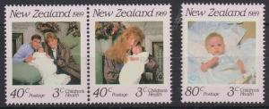 1989 New Zealand 1081-1083 Prins Andrev