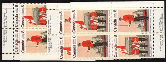 Canada - 1976 Royal Military College Centenary Blks mint