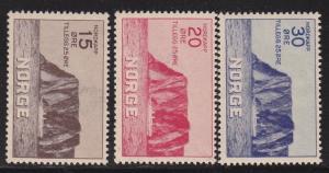 Norway B1 - B3 Set VF-OG-NH  scv $ 220 ! see pic !