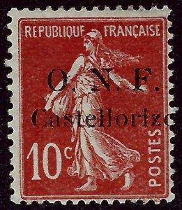 Castellorizo Sc #30 Mint F-VF SCV$57.50...French Colonies are Hot!