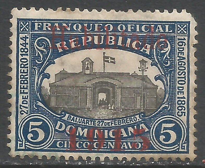 DOMINICAN REPUBLIC 157 MOG Q945