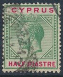 Cyprus  SG 75 Used    see detail and scan