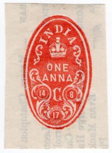 (I.B) India Revenue : Impressed Duty 1a (Calcutta)