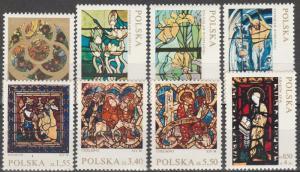 Poland #1832-8, B122  MNH   CV $2.60 (K1452)