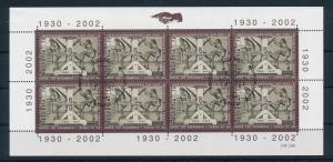 [21570] Switzerland 2002 Stamp Printers Miniature Sheet  Used