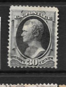 US 1870-80  30c  BLACK     FU    Sc 154