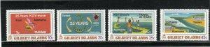 GILBERT ISLAND #313-316  1978 KING GEORGE V SCHOOL    MINT  VF NH  O.G  a