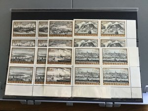 Yugoslavia  mint never hinged stamps blocks    R26200