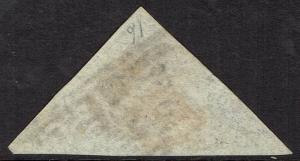 CAPE OF GOOD HOPE 1863 TRIANGLE 6D USED