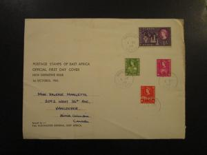 KUT 1960 QEII Series First Day Cover to 1 Shilling - Z6060