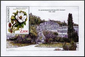 2020 Slovakia Magnolia - Nature Protection - SS (Scott NA) MNH