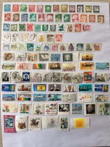 German 100+ stamps - Lot E
