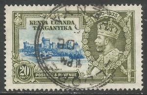 KENYA, UGANDA & TANZANIA 42 VFU Z68-3