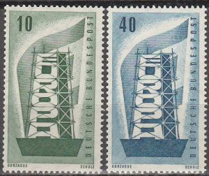 Germany #748-9  MNH CV $7.30